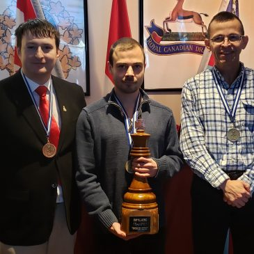 Nova Scotians win gold and bronze at Canadian Military Chess Championship